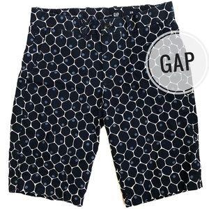 Gap Blue Dot Print Bermuda Shorts [size 28]